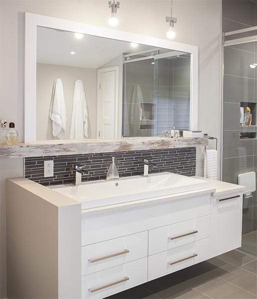 awesome salle de bain chaleureuse photos awesome. Black Bedroom Furniture Sets. Home Design Ideas
